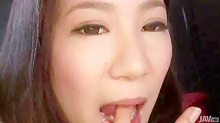 Amateur Asian cock riding scene with steamy Kyoka Sono - JavHD